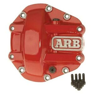 Arb Red Powder Coated Dana 60 Nodular Iron Hd Differential Cover 0750001
