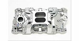 Edelbrock Performer Rpm Intake Manold Chevy S283 327 350 Fits Stock Heads 71011