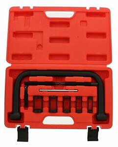 Abn Auto Valve Spring Compressor C Clamp Tool Set Service Kit For Motorcycle