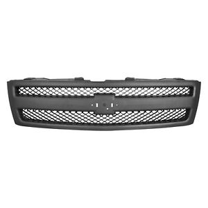 Cpp Grill Assembly For 2007 2013 Chevrolet Silverado 1500 Grille