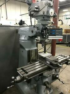 Bridgeport Milling Machine Dro Power Feed