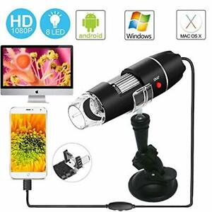 Usb Microscope Digital Magnification Endoscope 40 To 1000x Mini Camera With