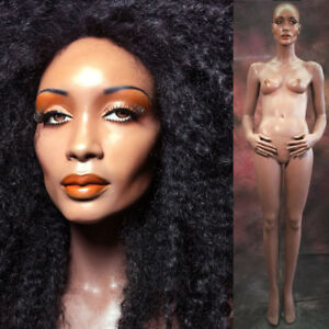 Rootstein Mannequin Female African American Black Full Realistic Ethnic Dawn Vtg
