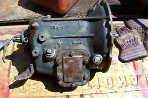 1940 46 41 47 Commerial Ford Flathead Truck T8d 1 4 Sp Transmission Oit 7006