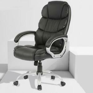 Refurbrished Office Desk Chair Ergonomic Swivel Executive Adjustable