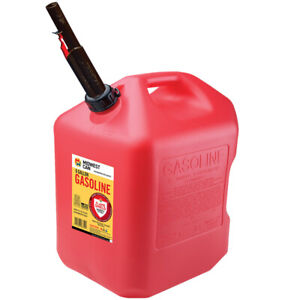 Midwest Can Flameshield Safety System Plastic Gas Can 6 Gal