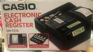 Casio Sm t274 Thermal Print Electronic Cash Register
