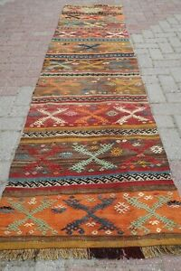 Rug Runner Vintage Turkish Hallway Kilim Rug Runner 27 1 X103 9 Runner Carpet