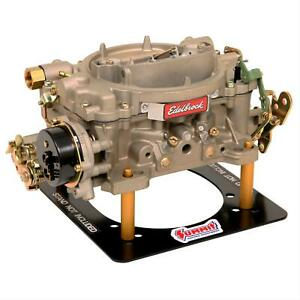 Edelbrock Marine Carburetor 4 Bbl 600 Cfm Air Valve Secondaries 1409