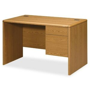Hon Small Office Desk 48 Width X 30 Depth X 29 5 Height 2 X Box File