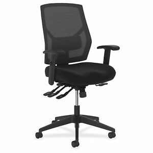 Basyx By Hon Crio Asynchronous Mesh Mid back Task Chair vl582es10t