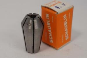 New Schaublin E 16 4 5mm Collet For Emco Unimat Lathe Swiss Made