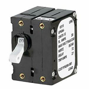Paneltronics 3930049 a Frame Magnetic Circuit Breaker 20 Amps Double Pole