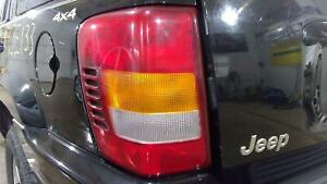99 03 Jeep Grand Cherokee Left Rear Tail Light Lamp Oem Used