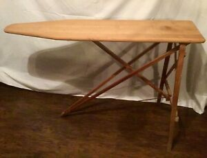 Antique Wooden Vintage Farmhouse Decoration Party Ironing Board