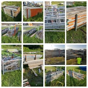 I Have Two Semi Loads Full Of Scaffolding That Has Been Lightly Used