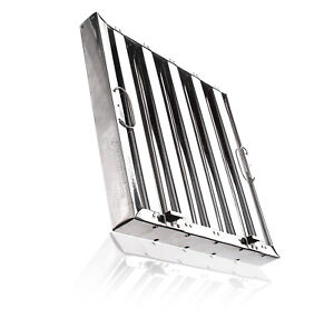 Captive Aire Systems Stainless Steel Restaurant Hood Filter 20 High X 20 Wide
