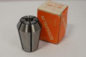New Schaublin E 25 7 5mm Collet For Emco Maximat Mill Or Lathe Swiss Made
