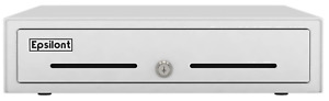 Manual Push Open Cash Drawer With Ringing Bell 4 Bill Slots 5 Coin Trays 13