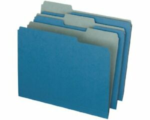 Pendaflex Earthwise Recycled Paper Color File Folder Letter 8 50 X 11