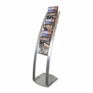 Deflect o Contemporary Literature Floor Stand 49 Height X 13 Width X 16 5