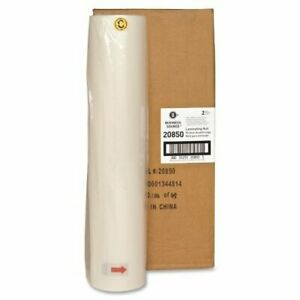 Business Source Laminating Roll Film 18 Width X 500 Ft Length X 1 50 Mil