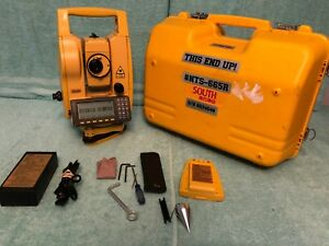 South Nts 665r Reflectorless Total Station 660 Series
