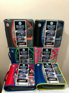 Case It The Mighty Zip Tab 2 0 Binder D 159 p 3 Rings 3 Inch Capacity