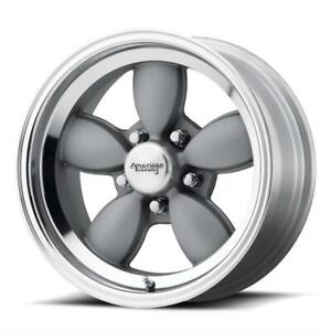 American Racing Vn504 Mag Gray Wheels With Mirror Lip Vn50477050400