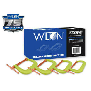 Wilton 11114 Spark duty 400cs Hi vis C clamp Kit New