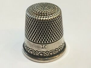 Ketcham Mcdougall Sterling Silver Thimble Size 10