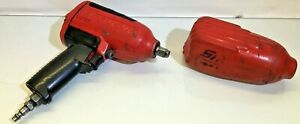 Snap on Mg725 1 2 Dr Pneumatic Air Impact Wrench Fast Free Shipping
