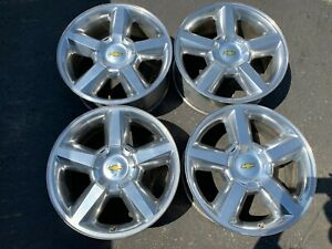 2007 2013 Chevy Silverado 1500 Tahoe Factory 20 Wheels Oem Rims Avalanche 5308