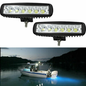 2x 6inch 36w Led Work Light Bar Spot Offroad Atv Fog Truck Lamp 4wd 12v 6