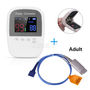 Portable Handheld Bluetooth Finger Pulse Oximeter Automatic Adult Kids Neonate