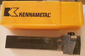 Kennametal 1 1 4 Indexable Tool Holder Dclnl 204d With Insert Case