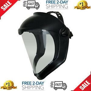 Honeywell Uvex Bionic Full Face Shield W Suspension Clear Lens Anti fog Safety