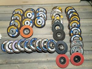 Weiler Grinding Flap Discs Plus 3m And Blaze Huge Lot All New