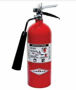 Amerex 322 5 Lb co2 Carbon Dioxide 5 b c Fire Extinguisher New 2019