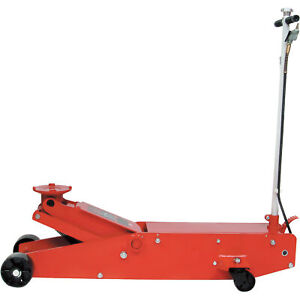 Blackhawk Automotive Long Chassis Jack With Air 10 Ton Capacity Model Bh6011