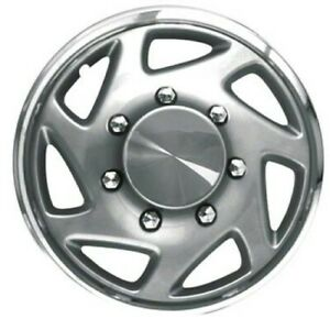 Set Of Four Hubcaps 16 Inch Fits Ford E250 E350 Van