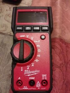 Milwaukee 2217 20 True Rms Multimeter No Cords Tool Only