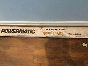 Powermatic 52 Homeshop Rails Accu fence For Table Saw 2653046z