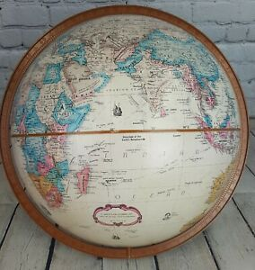 Vintage 16 Replogle World Classic 16 Dual Axis Globe No Stand