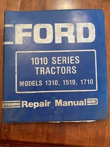 Ford 1010 Series Model 1310 1510 1710 Tractor Factory Service Repair Manual Oem