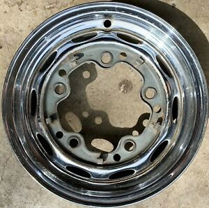 Porsche 356 356a 356b Lemmerz10 60 4 1 2x15 Chrome Wheel 1960 1961 Dl
