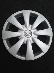Toyota Corolla 2009 2010 2011 2012 15 Hubcap Wheel Cover Chrome Emblem 61147a 2