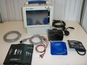 Welch Allyn Propaq Cs Model 242 With Accessories