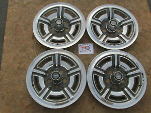 1966 69 Ford Mustang Galaxie 500 7 Litre 15 Mag Style Wheel Covers Hubcaps