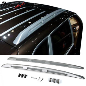 Fits 03 10 Porsche Cayenne Oe Style Aluminum Roof Rack Rail Luggage Carrier